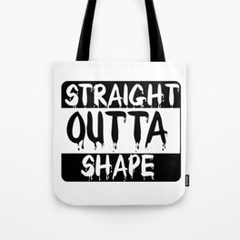 Directly Out of Shape Winter Bacon Bacon Coat Gift Tote Bag