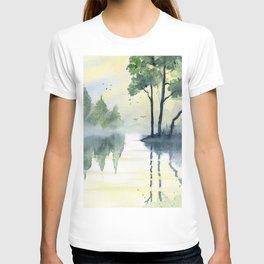Foggy Morning 2 T-shirt