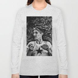 BOWIE / STARMAN Long Sleeve T-shirt
