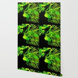 lionfish vector art green Wallpaper