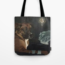 Jango and the Dreamcatcher Tote Bag