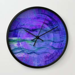 Jala (Water) #Abstract Wall Clock