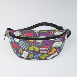 So Many Colorful Book... Fanny Pack