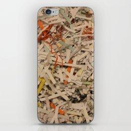 Shredded Self iPhone Skin