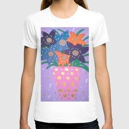 Fiesta Flowers Modern Still Life T-shirt