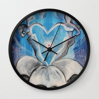 wedding Wall Clocks featuring Wedding by sladja