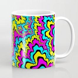 CMYK fractal trippiness Coffee Mug