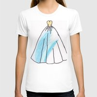 ravenclaw T-shirts featuring Ravenclaw Dress by AlwaysRiverose