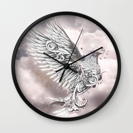 Rise From the Dark Wall Clock