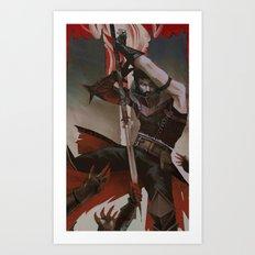Hawke (Dragon Age) Art Print