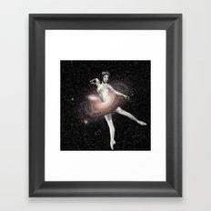 Cosmic Ballerina, Part 2 Framed Art Print