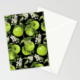 Blooming pomelo with fruits Stationery Cards