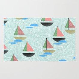 Come Sail Away Rug