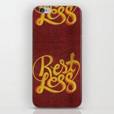 RestLess. iPhone & iPod Skin