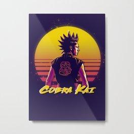 jacob bertrand Cobra Kai  Metal Print