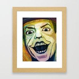 Joker Old Framed Art Print