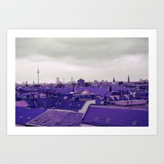 Berlin-Roofgarden's View Art Print