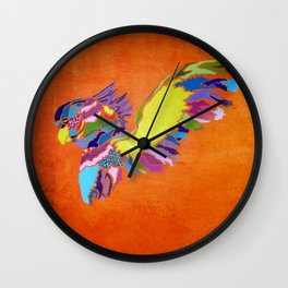 Cacatuidae Wall Clock