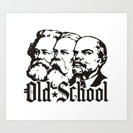 Old School Communism Art Print