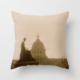 The Civic Throw Pillow