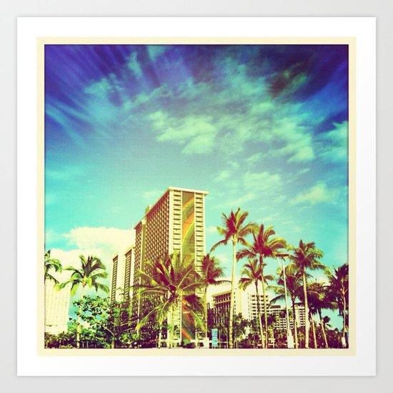 Waikiki Art Print