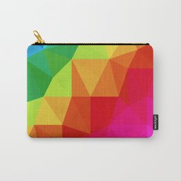 Rainbow Low Poly Carry-All Pouch