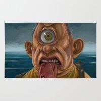 cyclops Area & Throw Rugs featuring Cyclops by Jim Agpalza