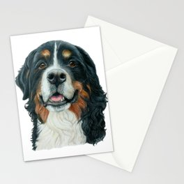 Rosie the Berenese Mountain Dog Stationery Cards