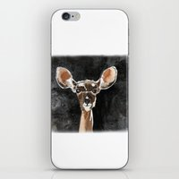fawn iPhone & iPod Skins featuring FAWN by Alison Sadler's Illustrations