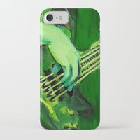 bass iPhone & iPod Cases featuring Bass by Juliana Marie
