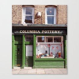 Columbia Pottery Canvas Print