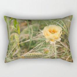 Blooming Cactus // North Dakota Rectangular Pillow