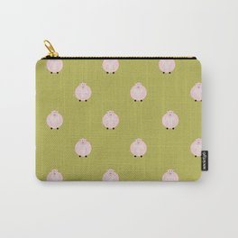 Pigs Green Carry-All Pouch