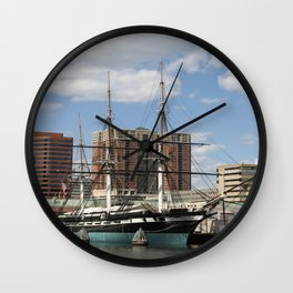 USS Constellation Wall Clock