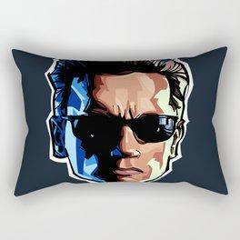 Terminator Head 1 Rectangular Pillow