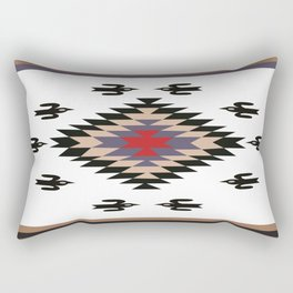American Native Pattern No. 135 Rectangular Pillow