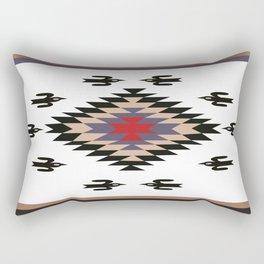 American Native Pattern No. 135 Rectangular Pillow
