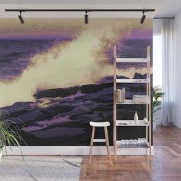 Waving Abstract Wall Mural