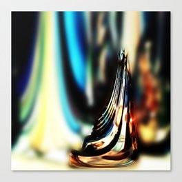 Reflective Refraction Canvas Print