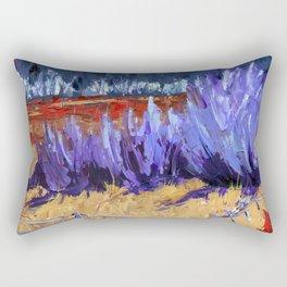 Winter Imagined Rectangular Pillow