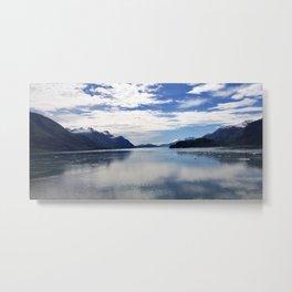 Clouds Over Alaska A Panoramic View Metal Print