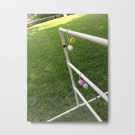 Ladder Golf Metal Print