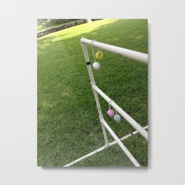 Ladder Golf Metal Print