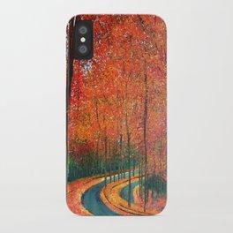 Beautiful colors of Autumn iPhone Case