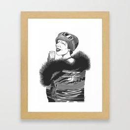 Lady Mary Heath by Szabolcs Kariko Framed Art Print