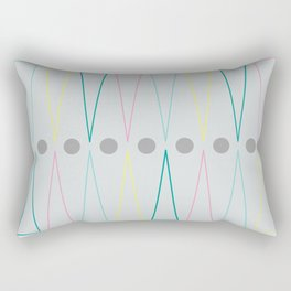 Soft triangles Rectangular Pillow