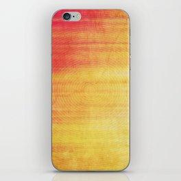Color Burst - Sunset Ring iPhone Skin