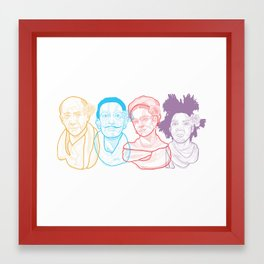 The Crew Framed Art Print