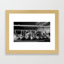 Its quitting time! Framed Art Print