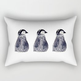 baby pinguin - bebe manchot - nord - north - banquise - arctique - pingouin Rectangular Pillow